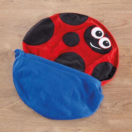 Louis the Ladybird Lap Weight  large