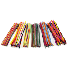Colourful Pipe Cleaner Set 250pk  medium
