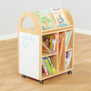 Double Sided Book Trolley W60 x D40 x H80cm  small