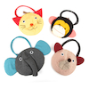 Discovery Animal Fine Motor Bags 4pk  small