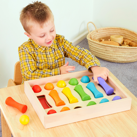 Baby Wooden Colour Sorting Collection  large