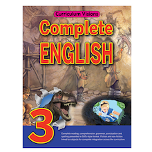 Curriculum Visions Complete English Book  Buy all  medium