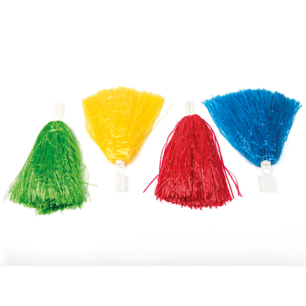 Cheerleader Pom Poms 4pk  large