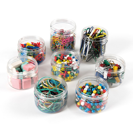TTS Assorted Stationery Tubs 8pk  large