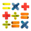 Squidgy Sparkles Maths Operations Set 10pcs  small