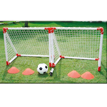 Mini Football Goal Play Complete Set  medium