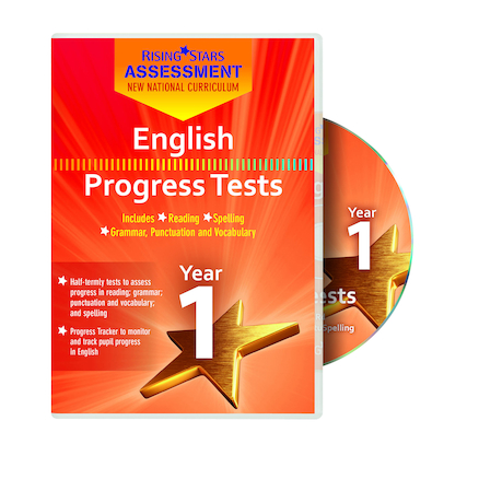 English Progress Tests - Year 1  large
