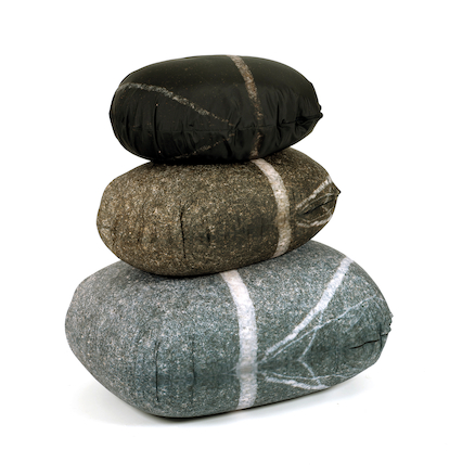 Giant Pebble Cushions  large
