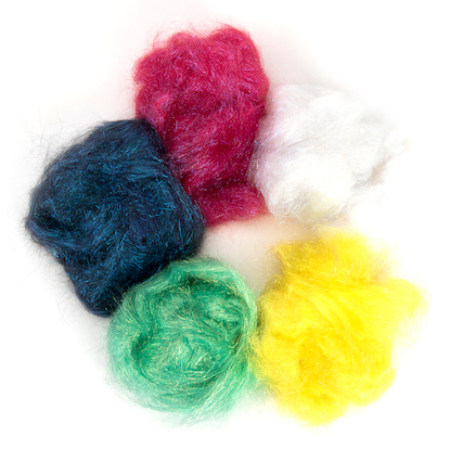 Angelina Assorted Fibres 50g 6pk  large