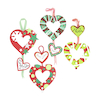 Make your own Heart Wreaths 30pk  small