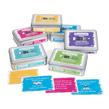 Teaching Tins Mastering Calculation Activity Cards  large