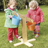 Outdoor Wooden Buckets and Scales Set  small