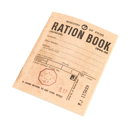 WW2 Ration Book  large