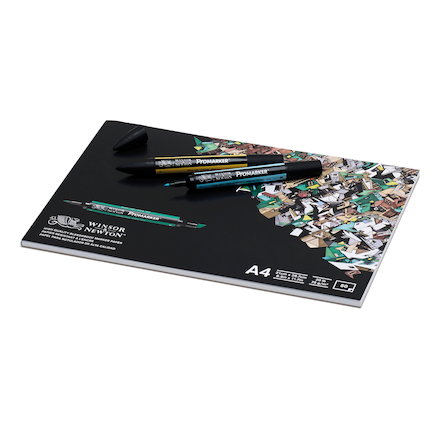 Winsor \x26 Newton Bleedproof Paper Pad A4 100pgs  large