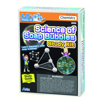 Science of Soap Bubbles Experiment Kit  large
