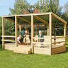 Outdoor Staging Sandpit Shelter  small