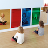 Rainbow Wall Mirrors 80 x 40cm Special Offer  small