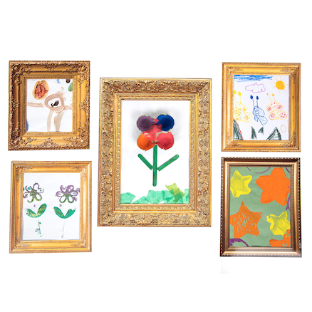 TTS Vintage Card Picture Frames  large