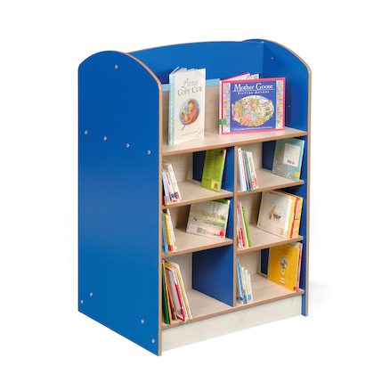 Double Sided Bookcase Height 1200mm  large
