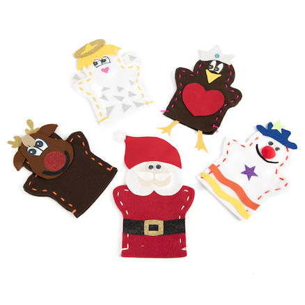 Christmas Hand Puppets  large