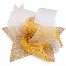 Glitter Star Decorations 30pk  medium
