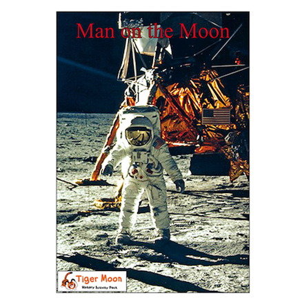 Man on the Moon Photo and Activity Pack A4 19pk  large