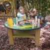 Outdoor Mirror Activity Table Wooden  small