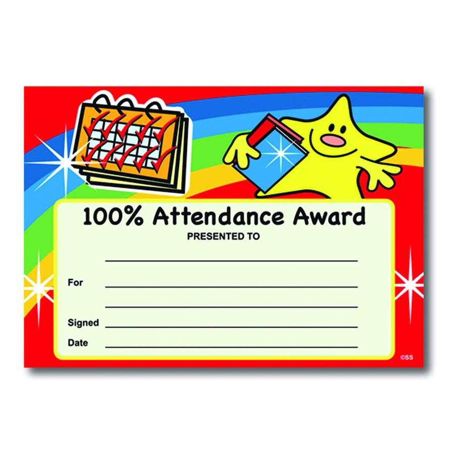 Buy Attendance Certificates | TTS