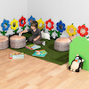 Artificial Rectangle Grass Mat 120 x 200cm  small