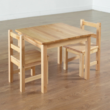Role Play Wooden Table and Chairs  medium