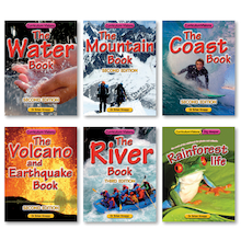 Curriculum Visions Physical Geography Book Pack 6pk  medium