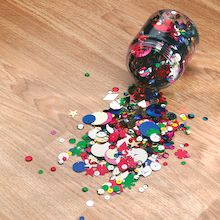 Tub of Sequins 100g  medium