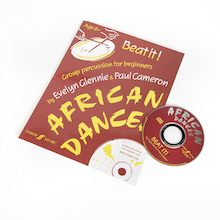 Beat it! African Dance Songbook and CD  medium