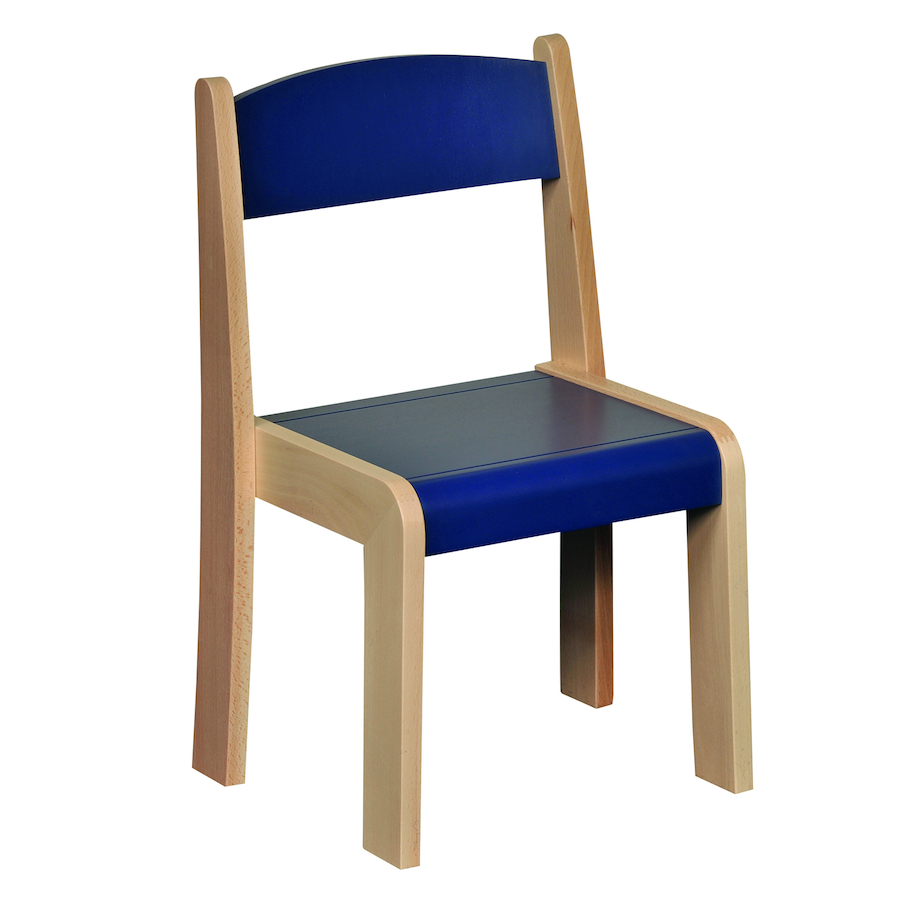 Buy solid beech stackable chairs 4pk tts for Furniture 08081