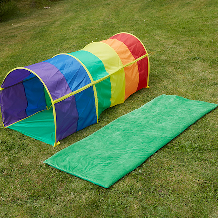 Rainbow Toddler Crawl Tunnel  large