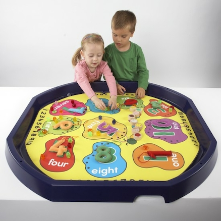 Active World Tuff Tray Number Mat  large