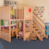 Indoor Two Floor Play Loft H2.4cm  small