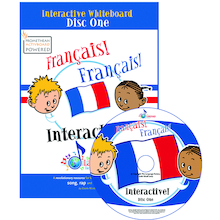 Francais Francais Interactive Whiteboard CD  medium