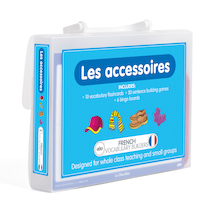 French Vocabulary Builders - Accessories  medium