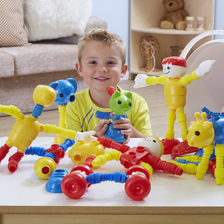 Popoids Animal and People Set 210pcs  large