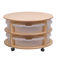 PlayScapes Circular Storage Units  medium