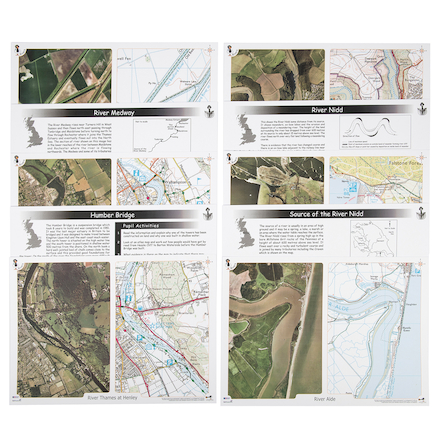 Rivers Deskmats A3 10pk  large