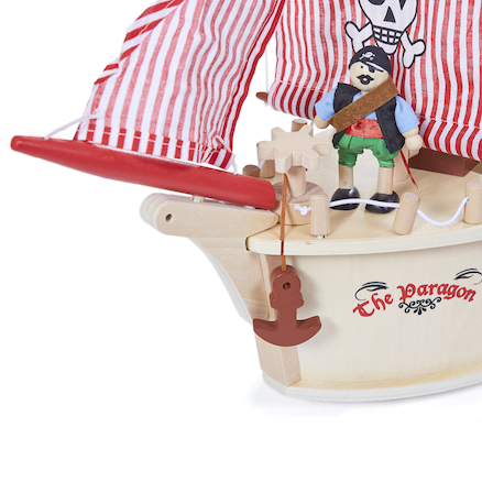 Small World Pirate Ship and Accessories  large