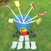 Assorted Gardening Tools 17pk  small