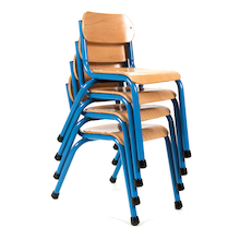Copenhagen Classroom Chair 210mm Blue  medium