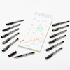 Calligraphy Italic Broad Marker Pens 12pk  small