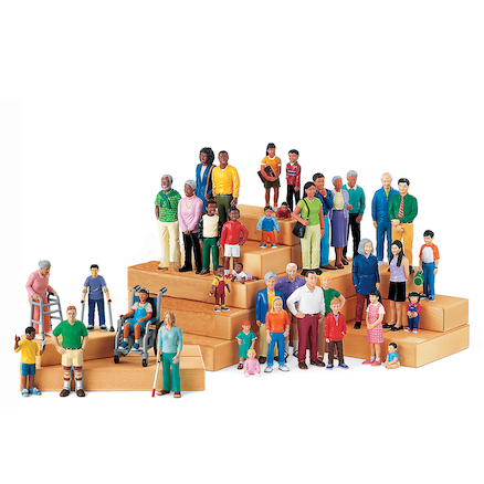 Small World Plastic Block People Buy All And Save  large