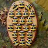 Honey Bee Number Stones  small