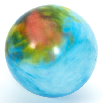 Marbled Effect Playballs 20cm 12pk  large
