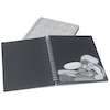 A3 220gsm Textured Black Card Spiral Sketchbooks  small